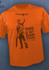 Army Of Darkness - Boomstick (Orange) [Guys Shirt]