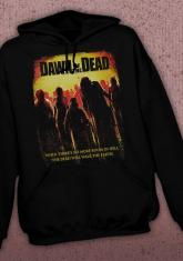 DAWN OF THE DEAD - NO MORE ROOM IN HELL DISCONTINUED - LIMITED QUANTITIES AVAILABLE [HOODED SWEATSHIRT]