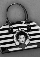 EDWARD SCISSORHANDS - STRIPES HANDBAG