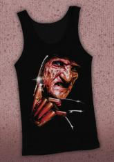 NIGHTMARE ON ELM STREET - CLOSE-UP DISCONTINUED - LIMITED QUANTITIES AVAILABLE [ADULT TANKTOP]