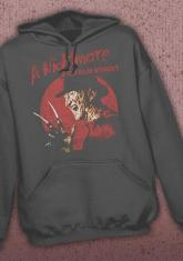 NIGHTMARE ON ELM STREET - CIRCLE DISCONTINUED - LIMITED QUANTITIES AVAILABLE [HOODED SWEATSHIRT]