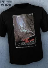 ESCAPE FROM NEW YORK - VHS COVER [GUYS SHIRT]