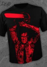 EVIL DEAD - CHAINSAW [FULL FRONT PRINT SHIRT]