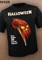HALLOWEEN - BOOGEYMAN IS BACK (GRAY) DISCONTINUED - LIMITED QUANTITIES AVAILABLE [MENS SHIRT]