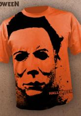HALLOWEEN - EYES OF A KILLER [FULL FRONT PRINT SHIRT]