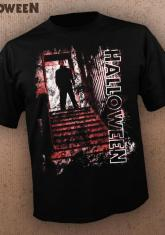 HALLOWEEN - STAIRS (BLACK) [GUYS SHIRT]
