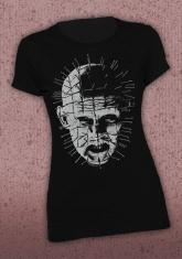 HELLRAISER - PINHEAD (CLOSE-UP) DISCONTINUED - LIMITED QUANTITIES AVAILABLE [WOMENS SHIRT]