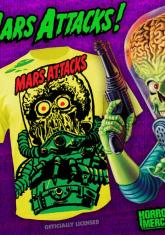 MARS ATTACKS - ALIEN (YELLOW) [FULL FRONT PRINT SHIRT]