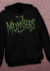 MUNSTERS - LOGO DISCONTINUED - LIMITED QUANTITIES AVAILABLE [HOODED SWEATSHIRT]