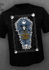 NIGHTMARE BEFORE CHRISTMAS - COFFIN [GUYS SHIRT]