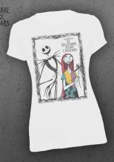 NIGHTMARE BEFORE CHRISTMAS - JACK AND SALLY [WOMENS SHIRT]