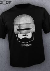 ROBOCOP - FACE BW [GUYS SHIRT]
