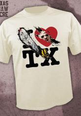 TEXAS CHAINSAW MASSACRE - I HEART TX [GUYS SHIRT]