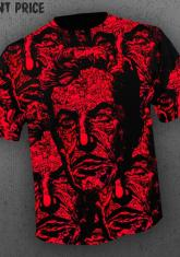 VINCENT PRICE - MASQUE OF THE RED DEATH (ALL OVER FRONT PRINT) [GUYS SHIRT]