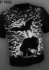 VINCENT PRICE - BATS (ALL OVER FRONT PRINT) [GUYS SHIRT]